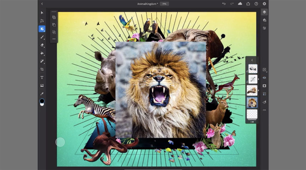 iPad版 Photoshop v 2.0